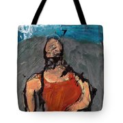 Woman In Landscape 1 Tote Bag