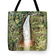 Woman In The Mist Tote Bag