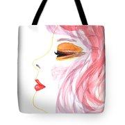 Woman Inner Trust Watercolor Painting Tote Bag