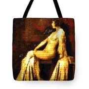 Woman Of The Night Tote Bag