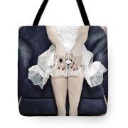 Woman On Chair Tote Bag by Joana Kruse