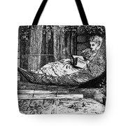 Woman Reading, C1873 Tote Bag