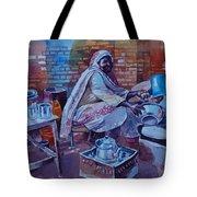 Woman Tea Tote Bag