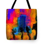 Woman With Three Legs Tote Bag