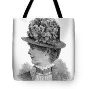 Womans Hat, 1883 Tote Bag
