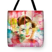 Woman's Soul Prelude Tote Bag