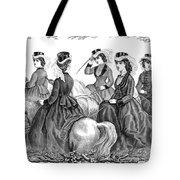 Womens Fashion, 1870 Tote Bag