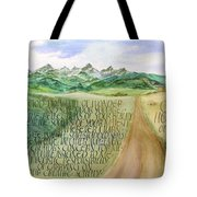 Wonder And Splendor I Tote Bag