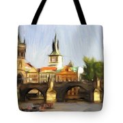 Wonderful Prague Tote Bag