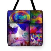 Wondering 1 Tote Bag by Angelina Vick