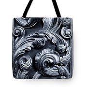 Wood Carving Patterns Tote Bag