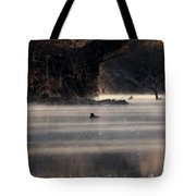 Wood Duck - On The Scenic Sucarnoochee River Tote Bag