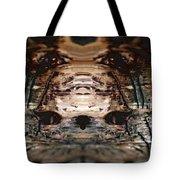 Wood Hermit At Fox Park Tote Bag