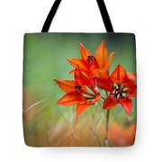 Wood Lily Tote Bag