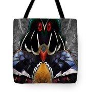 Wood Owl Tote Bag