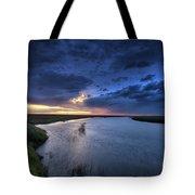 Wood River Saskatchewan Canada Tote Bag