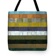 Wooden Abstract L Tote Bag