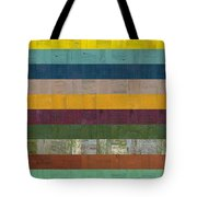 Wooden Abstract Ll Tote Bag