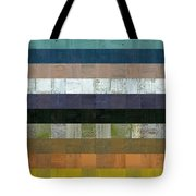 Wooden Abstract Lv Tote Bag
