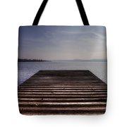 Wooden Bridge Tote Bag by Joana Kruse