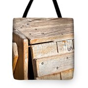 Wooden Crate Tote Bag by Tom Gowanlock