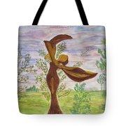 Wooden Femme Tote Bag