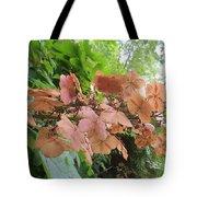 Wooden Hydrangea Tote Bag