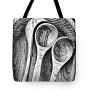 Wooden Ladles Tote Bag