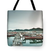 Wooden Pier Tote Bag