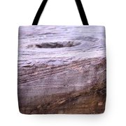 Wooden Ring Abstract Tote Bag