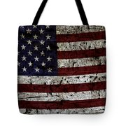 Wooden Textured Usa Flag2 Tote Bag