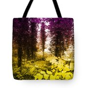 Woodland Color Tote Bag