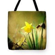 Woodland Narcissus Tote Bag