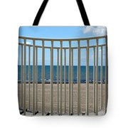 Woodlawn Beach State Park Through Playground Equipment  Tote Bag