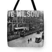 Woodrow Wilson In Paris Tote Bag