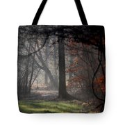 Woods - Dirt Road Photo - The Quiet Place Tote Bag
