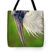 Woodstork Portrait Tote Bag