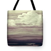 Words Mean More At Night Tote Bag