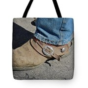 Work Boots Tote Bag