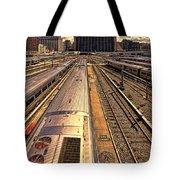 Workin' On The Railroad Tote Bag