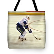 Working The Puck Tote Bag