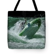 Working The Rapids Tote Bag