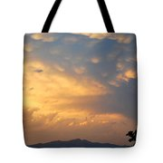 Working Up A Storm Tote Bag