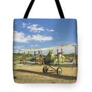Worl War One 1916 Royal Aircraft F.e.8 Canvas Photo Poster Print Tote Bag