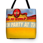 World Famous Party Tote Bag