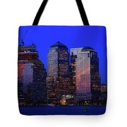 World Financial Center New York Tote Bag