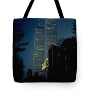 World Trade Center At Dusk Tote Bag