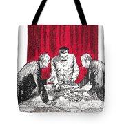 World War II: Cartoon Tote Bag