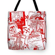Worth Weil Songs Tote Bag