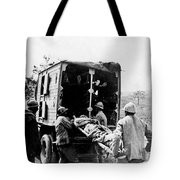 Wounded At The Battle Of Somme - Wwi -- France Tote Bag